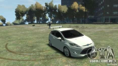 Ford Fiesta para GTA 4 vista direita