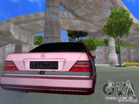 Mercedes-Benz S600 W140 v 2.0 para GTA San Andreas vista direita
