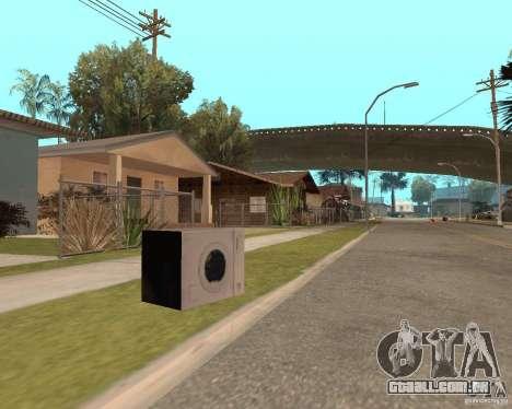 Remapping Ghetto v.1.0 para GTA San Andreas por diante tela