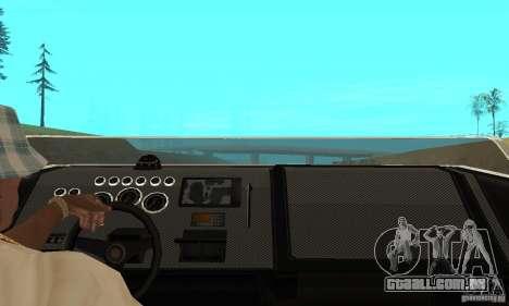 GTAIV TBOGT Smuggler para GTA San Andreas vista direita