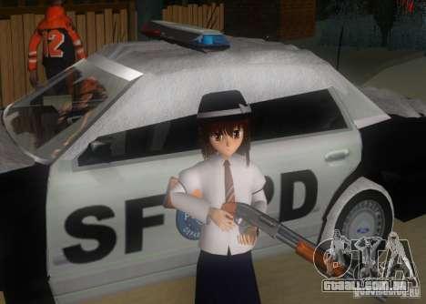 Anime Characters para GTA San Andreas nono tela