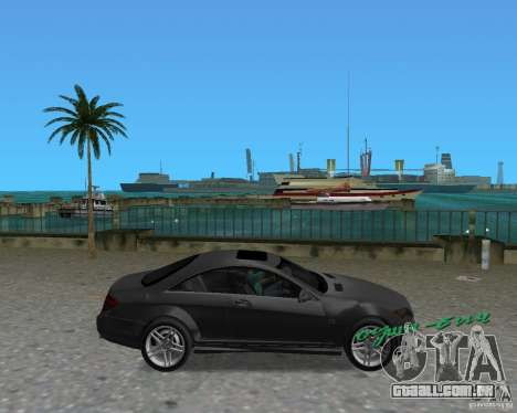 Mercedess Benz CL 65 AMG para GTA Vice City vista direita