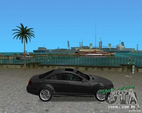 Mercedess Benz CL 65 AMG para GTA Vice City vista direita