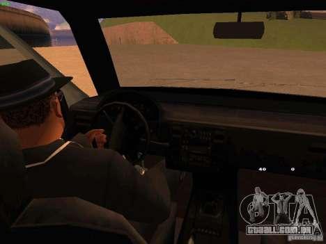 Moonbeam NN para GTA San Andreas vista interior