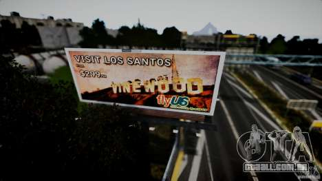 Realistic Airport Billboard para GTA 4 sexto tela