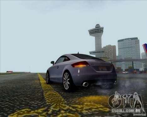 Audi TT para GTA San Andreas vista direita