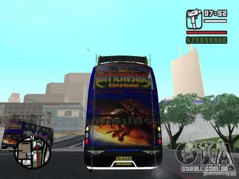 Neoplan para GTA San Andreas vista interior