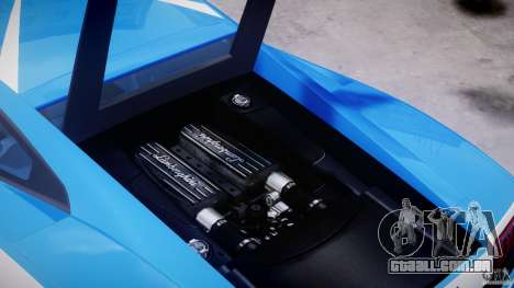 Lamborghini Gallardo LP560-4 Polizia para GTA 4 vista lateral
