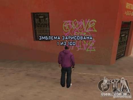 Ballas 4 Life para GTA San Andreas oitavo tela