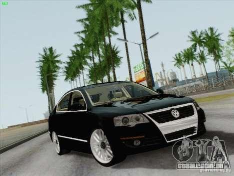 Volkswagen Magotan 2011 para GTA San Andreas vista traseira