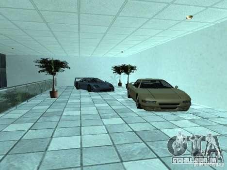 Mais carros a motor show em Dougherty para GTA San Andreas quinto tela
