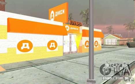 Nova loja Dixie para GTA San Andreas