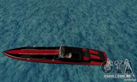 GTAIV TBOGT Smuggler para GTA San Andreas esquerda vista