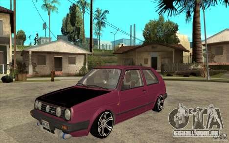 VW Golf 2 GTI para GTA San Andreas