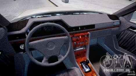 Mercedes-Benz W124 E500 1995 para GTA 4 vista direita