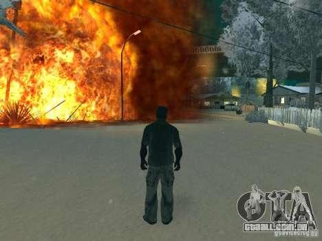 Salut v1 para GTA San Andreas por diante tela