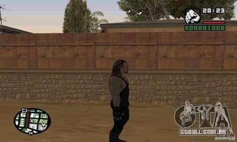 O coveiro da Smackdown 2 para GTA San Andreas sétima tela