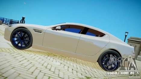 Aston Martin Rapide para GTA 4 traseira esquerda vista