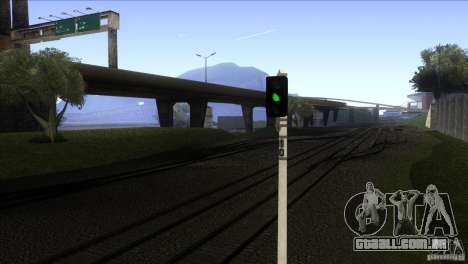Um novo algoritmo de trem 5 para GTA San Andreas terceira tela