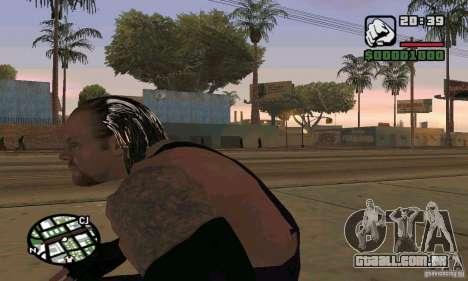 O coveiro da Smackdown 2 para GTA San Andreas por diante tela