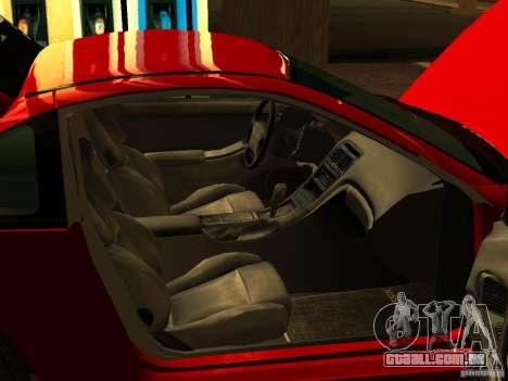 Nissan 300ZX para GTA San Andreas vista traseira