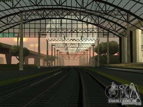 Rede de contactos para GTA San Andreas por diante tela