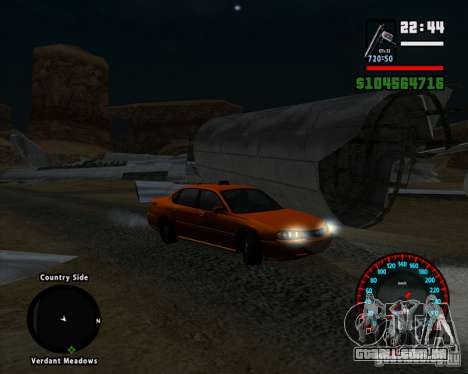 Novo velocímetro BMW para GTA San Andreas terceira tela