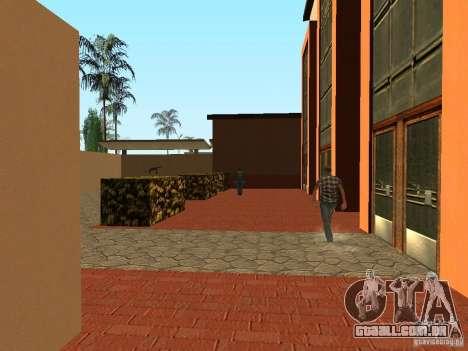Novas texturas para a estação da unidade para GTA San Andreas terceira tela