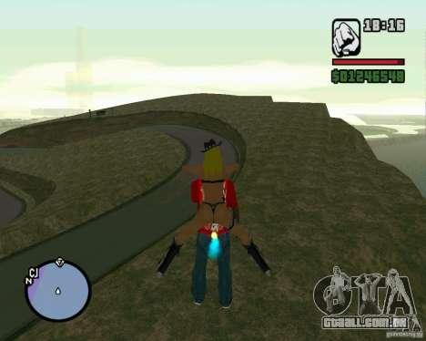 Ebisu Touge para GTA San Andreas segunda tela
