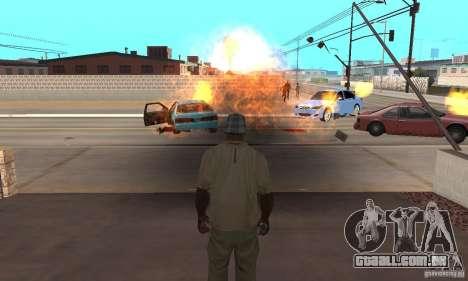 Hot adrenaline effects v1.0 para GTA San Andreas terceira tela