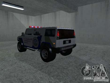 LAÇO patriota de GTA 4 para GTA San Andreas esquerda vista