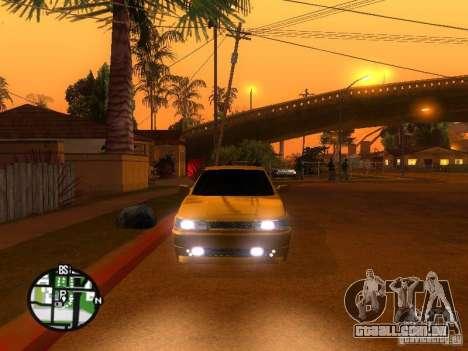 VAZ-2112 carro Tuning para GTA San Andreas vista traseira