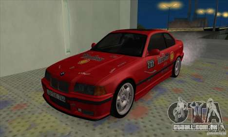 BMW M3 E36 para GTA San Andreas interior