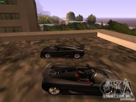 Koenigsegg CCXR Edition para GTA San Andreas esquerda vista