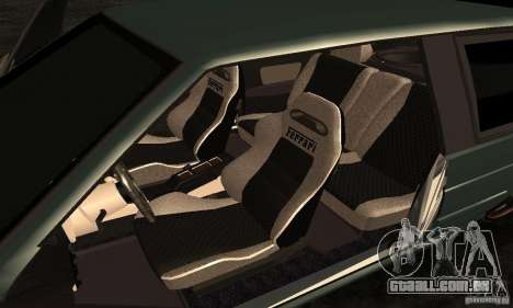 VAZ 2113 Ferrari para GTA San Andreas vista traseira