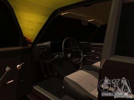VAZ 2107 X-estilo para vista lateral GTA San Andreas