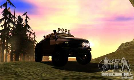 Dodge Ram All Terrain Carryer para GTA San Andreas vista traseira