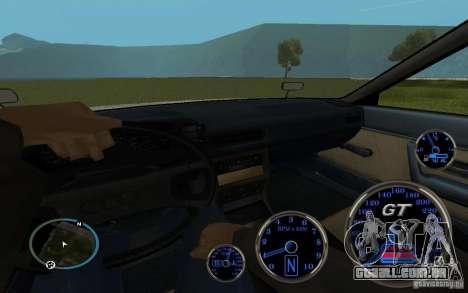 Audi 80 Quattro Rally para GTA San Andreas traseira esquerda vista