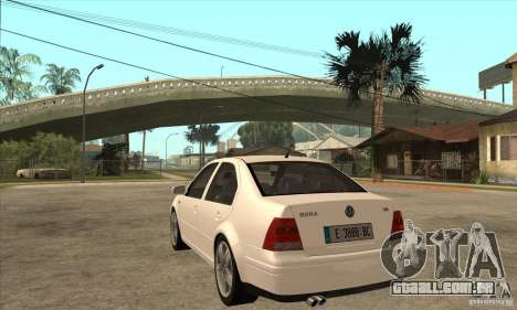 Volkswagen Bora VR6 2003 para GTA San Andreas traseira esquerda vista