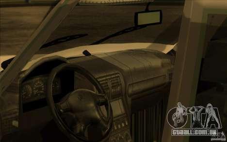 GAZ Volga 311021 para GTA San Andreas vista traseira