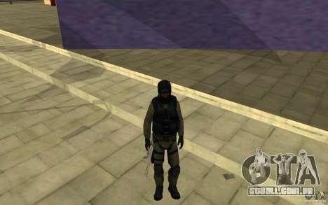 Forças especiais-CJ para GTA San Andreas