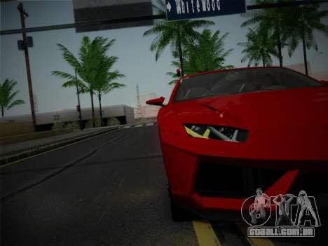 Lamborghini Estoque Concept 2008 para vista lateral GTA San Andreas