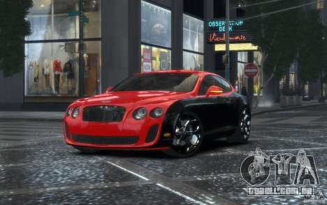 Bentley Continental SS MansorY para GTA 4
