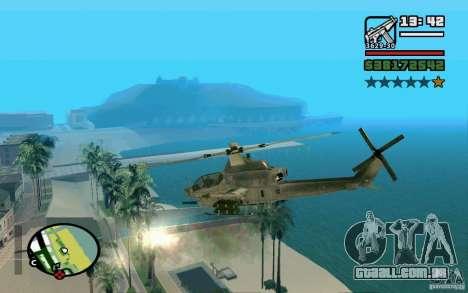 Bell AH-1Z Viper para GTA San Andreas esquerda vista