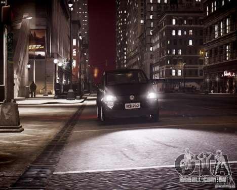Volkswagen Fox 2011 para GTA 4 vista inferior