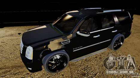 Cadillac Escalade 2007 v3.0 para GTA 4 esquerda vista
