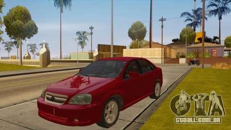 Buick Excelle para GTA San Andreas