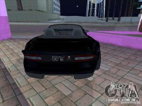 Banshee de gta 4 para GTA San Andreas vista direita