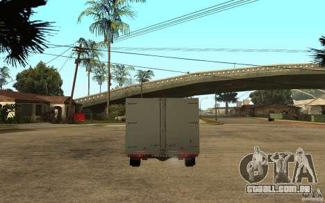 CEP 2345 para GTA San Andreas traseira esquerda vista