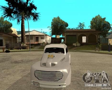 Ford F1 Pickup Hotrod 49 para GTA San Andreas vista traseira